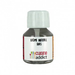 Arôme alimentaire Naturel Anis 58 ml Cuisineaddict