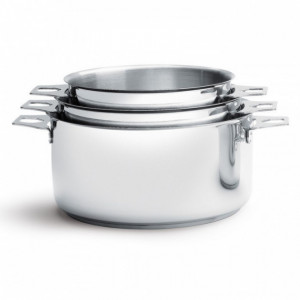Lot de 3 Casseroles Twisty 16, 18 et 20 cm