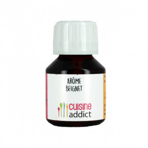 Arôme Alimentaire Beignet 58ml Cuisineaddict