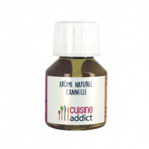Arôme Alimentaire Naturel Cannelle 58ml Cuisineaddict