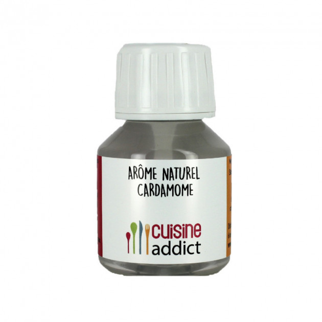 Arome alimentaire naturel Cardamome 58ml Cuisineaddict
