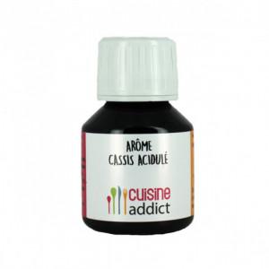 Arôme Alimentaire Cassis Acidulé 58 ml Cuisineaddict