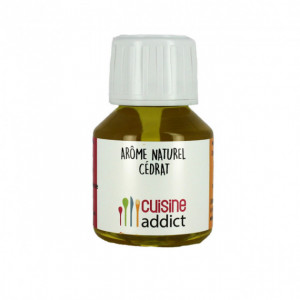 Arôme alimentaire naturel Cedrat 58ml Cuisineaddict