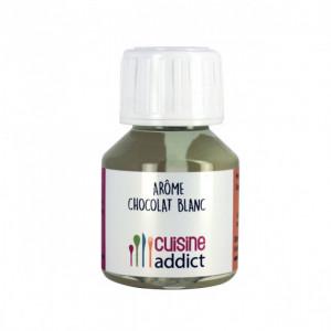 Arôme Alimentaire Chocolat Blanc 58 ml Cuisineaddict