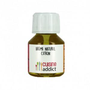Arôme alimentaire naturel Citron 58ml Cuisineaddict