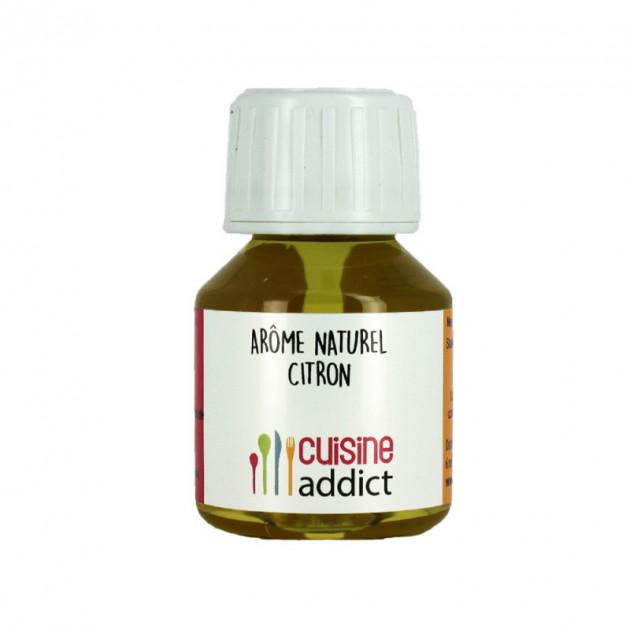 Arôme Alimentaire Naturel Citron 58 ml Cuisineaddict
