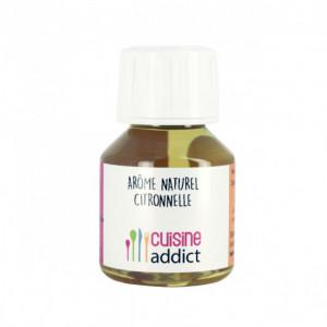 Arôme Alimentaire Naturel Citronnelle 58 ml Cuisineaddict