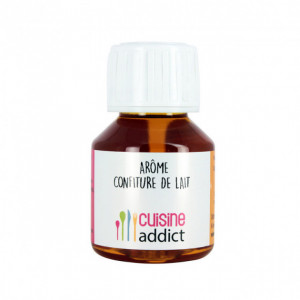 Arôme Alimentaire Confiture de Lait 58 ml Cuisineaddict