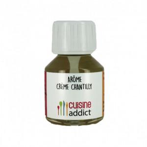 Arôme Alimentaire Crème Chantilly 58 ml Cuisineaddict