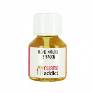 Arôme Alimentaire Naturel Estragon 58 ml Cuisineaddict