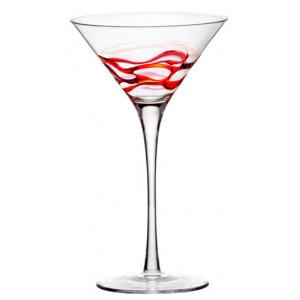 FIN DE SERIE Verres à cocktail Ceralacca - Rouge - 24 cl x4