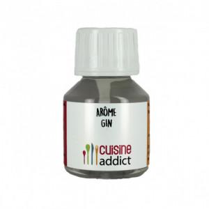 Arôme alimentaire Gin 58ml Cuisineaddict