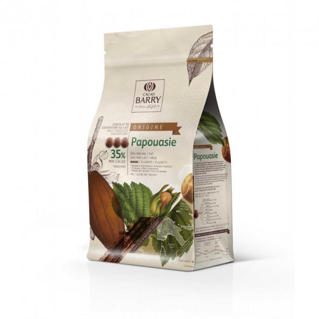 Chocolat lait origine Papouasie 35.7%