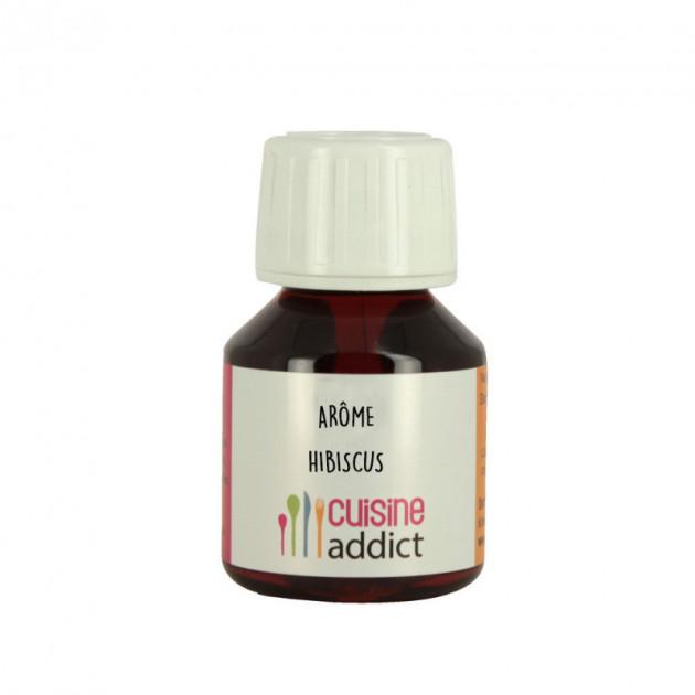 Arôme Alimentaire Naturel Hibiscus 58 ml Cuisineaddict