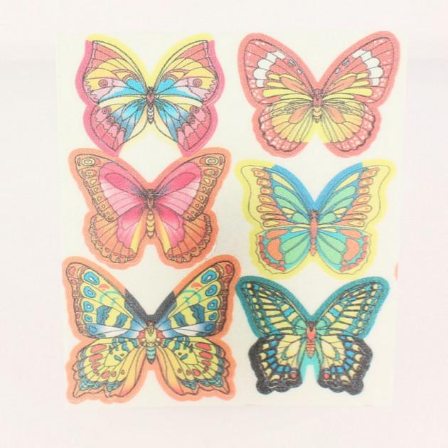 Papillons en Azyme