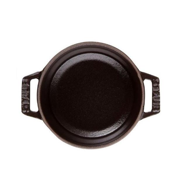 Cocotte ronde en fonte 26 cm Noir 5.2l