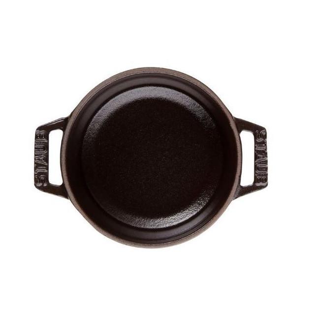 Cocotte ronde en fonte 22 cm Noir 2.6 l