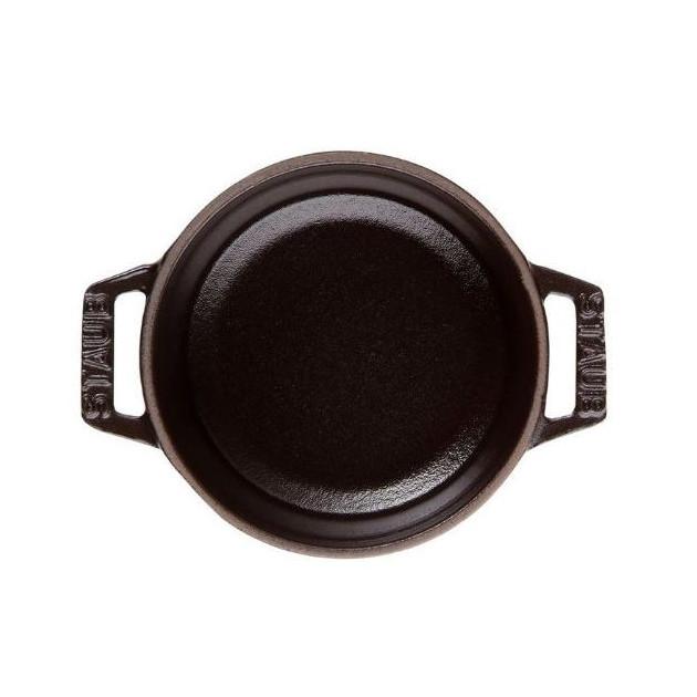Cocotte Ronde 18 cm Noir Staub Fonte 1.7 l