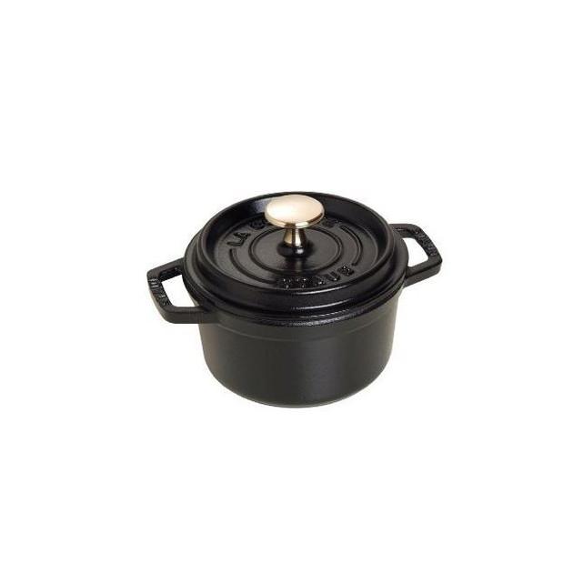 Cocotte Ronde 14 cm Noir Staub Fonte 0.8 l
