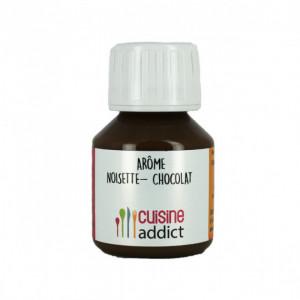 Arôme Alimentaire Chocolat Noisette 58 ml Cuisineaddict