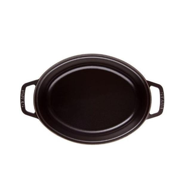 Cocotte Ovale 31 cm Noir Staub Fonte 5.4 l