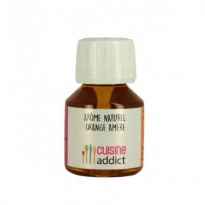 Arôme alimentaire Naturel Orange Amère 58ml Cuisineaddict