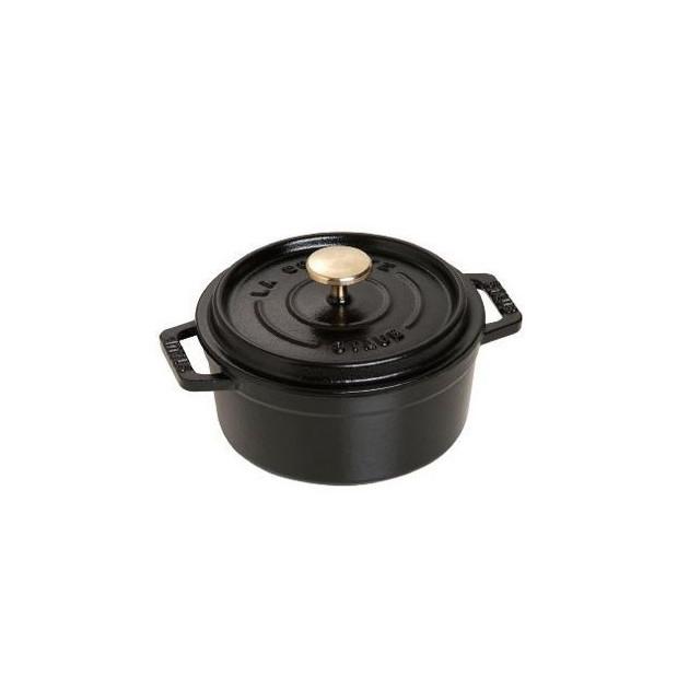 Cocotte Ronde 12 cm Noir Staub Fonte 0.4 l