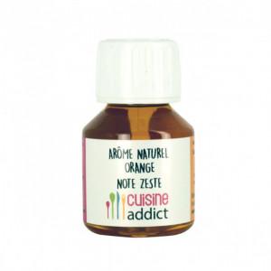 Arôme Alimentaire Naturel Orange Zeste 58 ml Cuisineaddict
