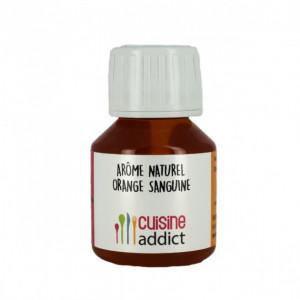 Arôme alimentaire Naturel Orange Sanguine 58ml Cuisineaddict
