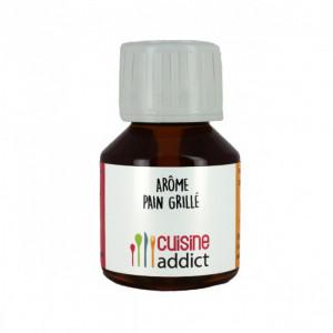 Arôme alimentaire Pain grillé 58ml Cuisineaddict