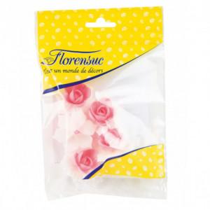 Fleurs de Jonquille rose x5 - en Azyme