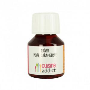 Arôme alimentaire Poire caramélisée 58ml Cuisineaddict