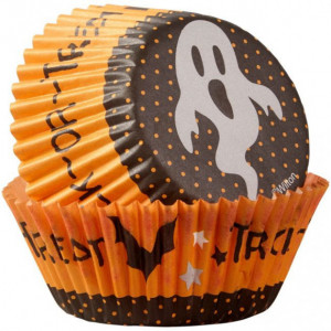 Caissette Cupcake Trick or Treat (x75) Wilton