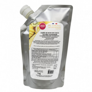 Purée de Coco 1kg Fruits Rouges & Co