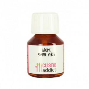 Arôme Alimentaire Pomme Verte 58ml Cuisineaddict