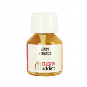 Arôme alimentaire Rhubarbe 58ml Cuisineaddict
