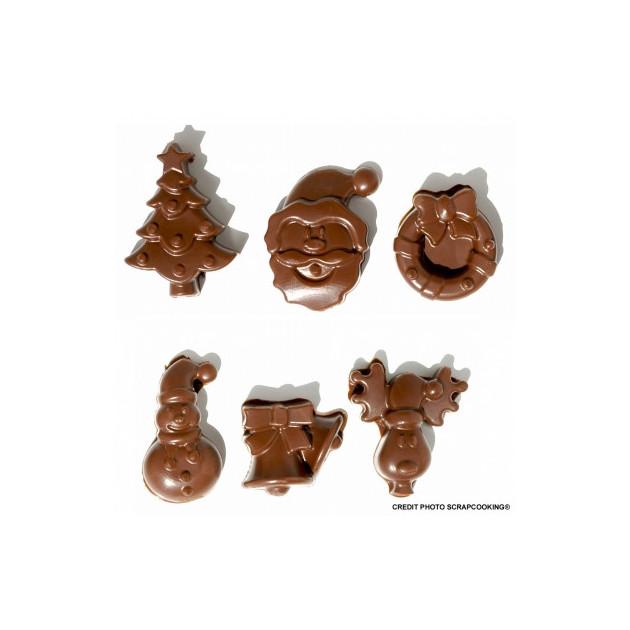Moule a Chocolat de Noel Scrapcooking