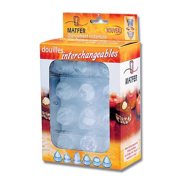 Boîte de 10 Douilles Interchangeables Matfer