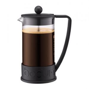 Cafetière à Piston Brazil 8 tasses 1L - Noir