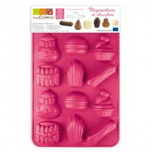 Moule silicone Chocolats Mignardises