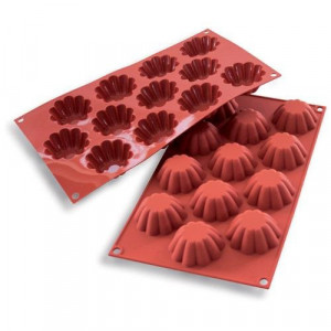 Moule mini brioches professionnel en silicone