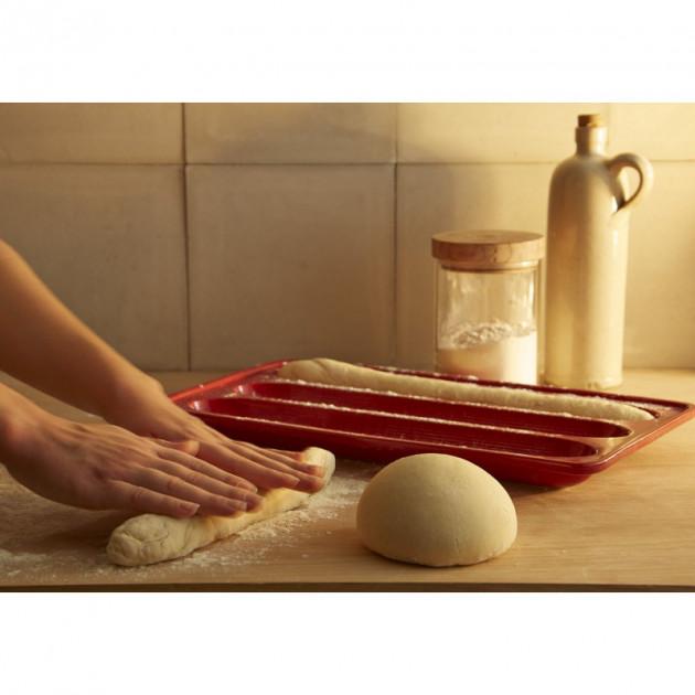 Preparation baguette maison pour moule a pain