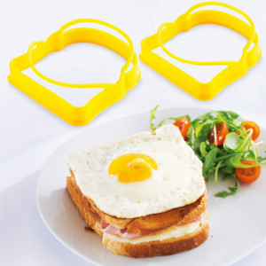 FIN DE SERIE Forme à oeufs Toast Mastrad (lot de 2) Orange