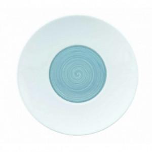 FIN DE SERIE Assiette Plate à Dessert GALICE Gris Perle 21 cm