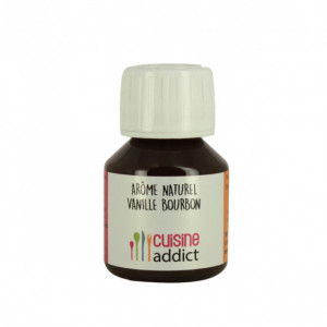 Arôme alimentaire Naturel Vanille Bourbon nat. 400g Cuisineaddict 58ml