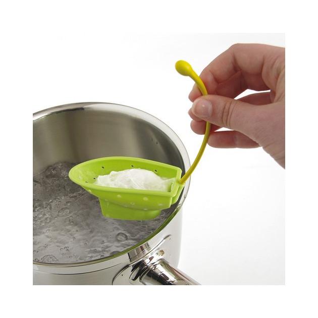 Pocheuse en silicone vert x2
