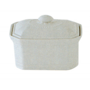 FIN DE SERIE Terrine Octogonale à Foie Gras 1kg Porcelaine
