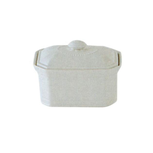 Terrine Octogonale Foie Gras 120 G Porcelaine