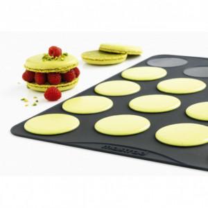 FIN DE SERIE Feuille de cuisson pour Grands Macarons Mastrad (lot de 2)