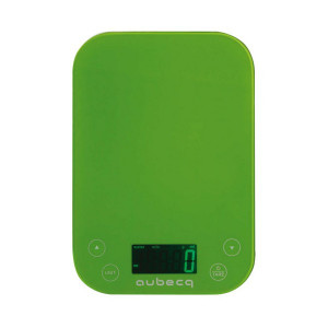 Balance de cuisine Aubecq Verte 5kg/1g